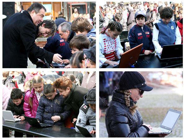 кметът на община Несебър Николай Димитров призова учениците от училищата в Несебър и Сл. Бряг да гласуват за родния си град